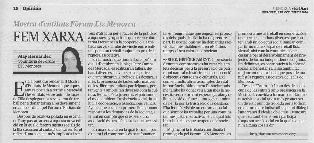 article mostra 081014